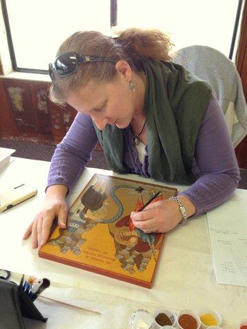 Yvonne Anne Hajdu-Cronin Iconographer