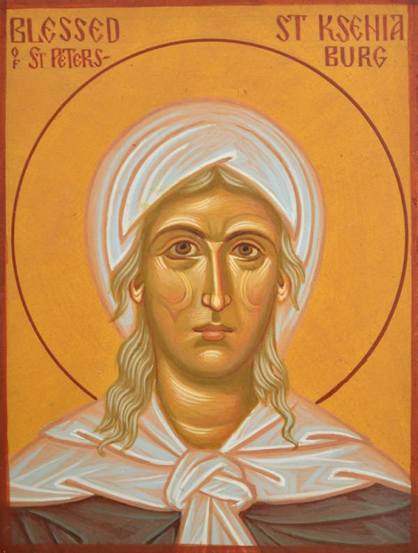 St Ksenia of Petersburg