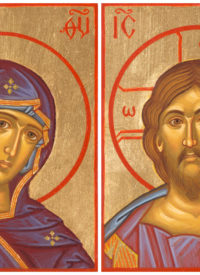 christ-and-theotokos-matched-set