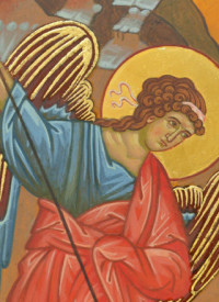 Miracle of Archangel Michael at Chonae