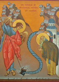 The Miracle of Archangel Michael at Chonae