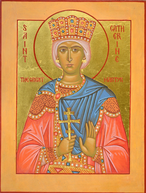 St. Catherine of Alexandria, the Great Martyr