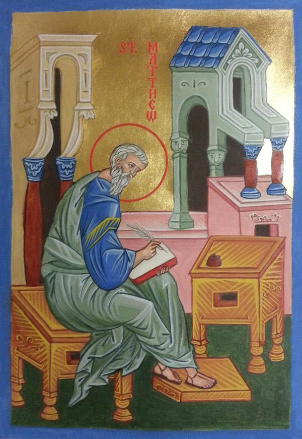 St Matthew The Evangelist Yvonne Anne Hajdu Cronin