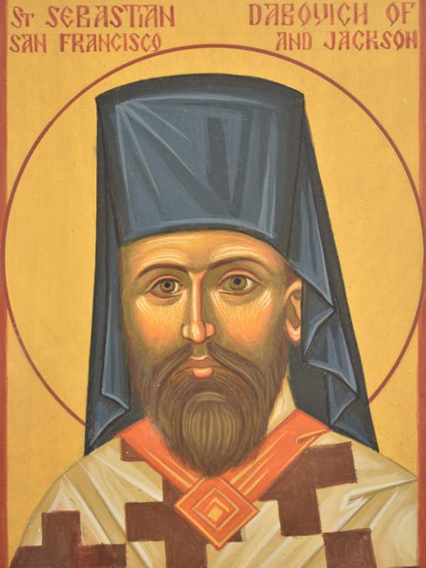 St Sebastian Dabovich of San Francisco and Jackson